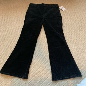*NEW* Forever 21 - Black Corduroy Flare Pants